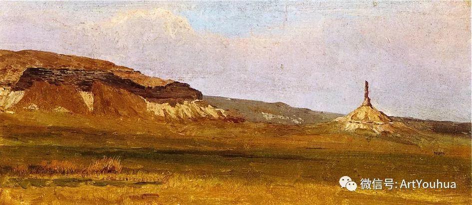 哈德逊河派 美国画家Albert Bierstadt插图53