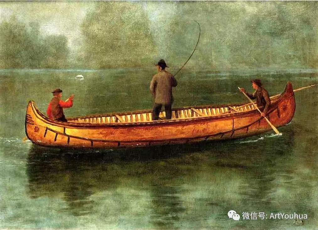 哈德逊河派 美国画家Albert Bierstadt插图55