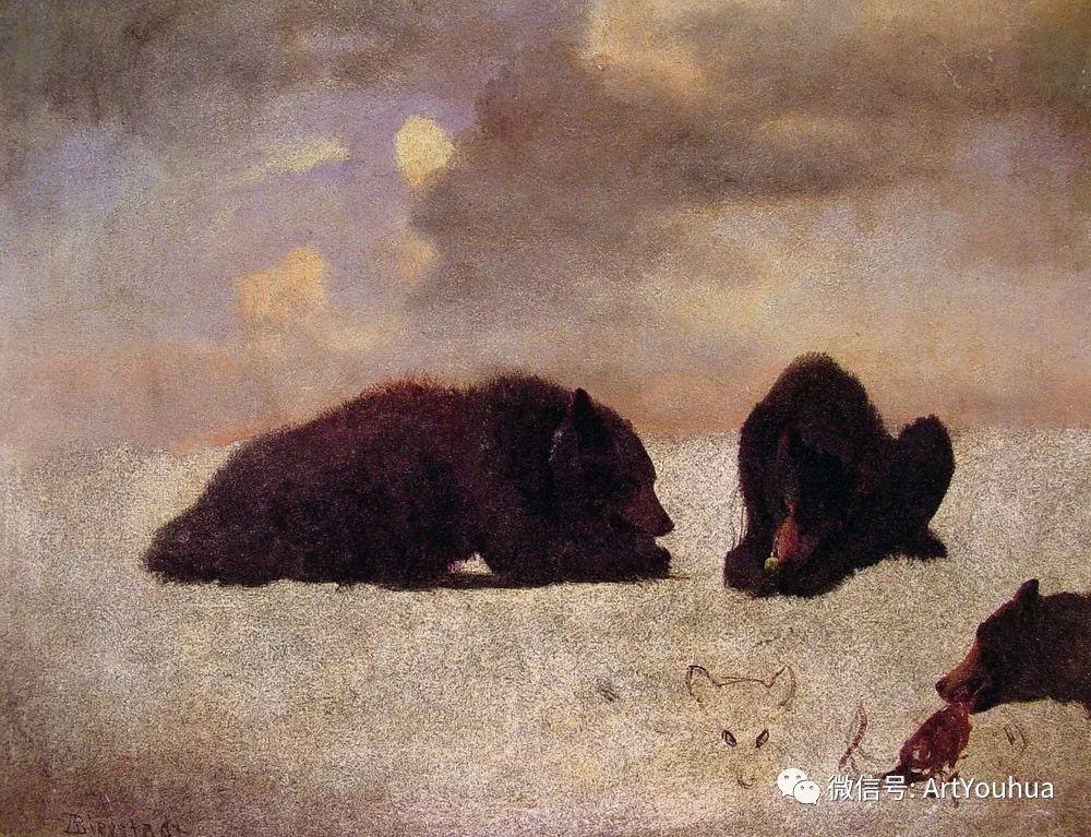 哈德逊河派 美国画家Albert Bierstadt插图57