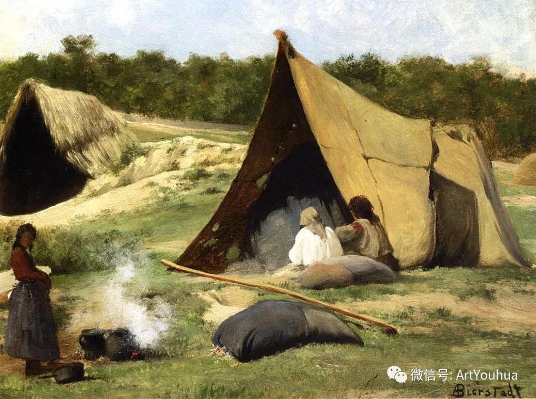 哈德逊河派 美国画家Albert Bierstadt插图59