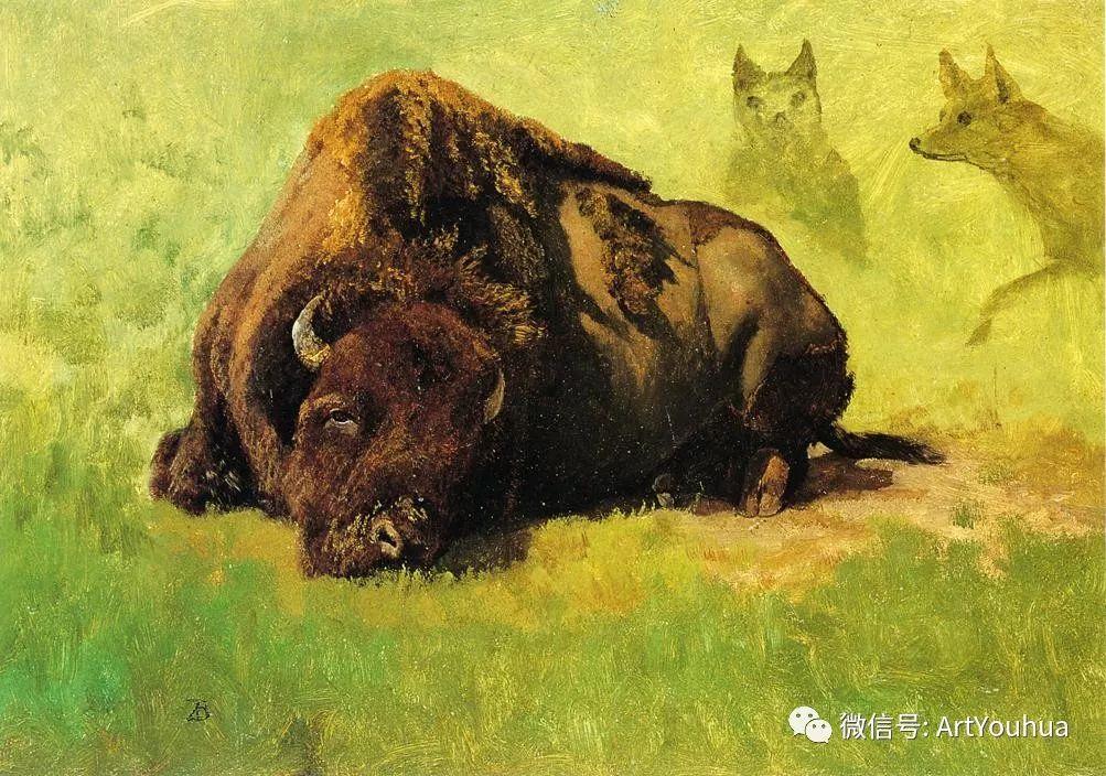 哈德逊河派 美国画家Albert Bierstadt插图61