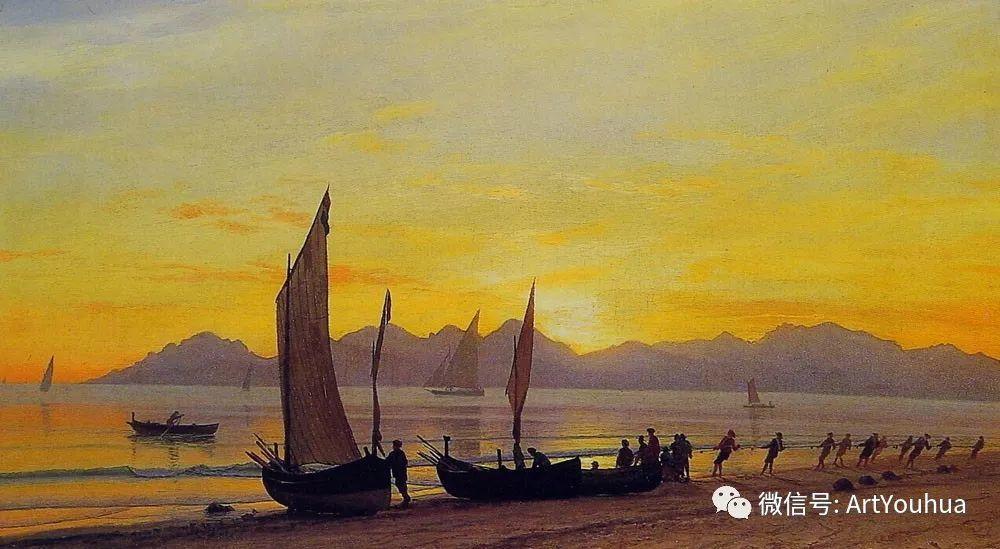 哈德逊河派 美国画家Albert Bierstadt插图65