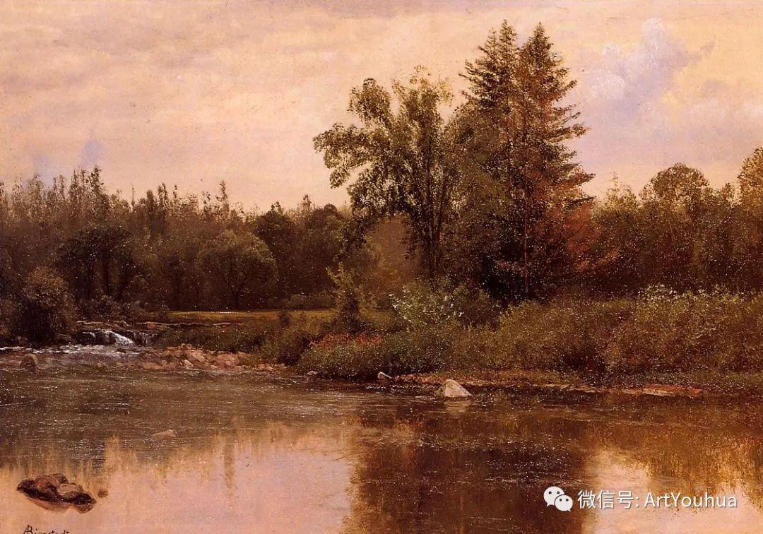 哈德逊河派 美国画家Albert Bierstadt插图67