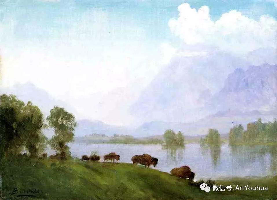 哈德逊河派 美国画家Albert Bierstadt插图69