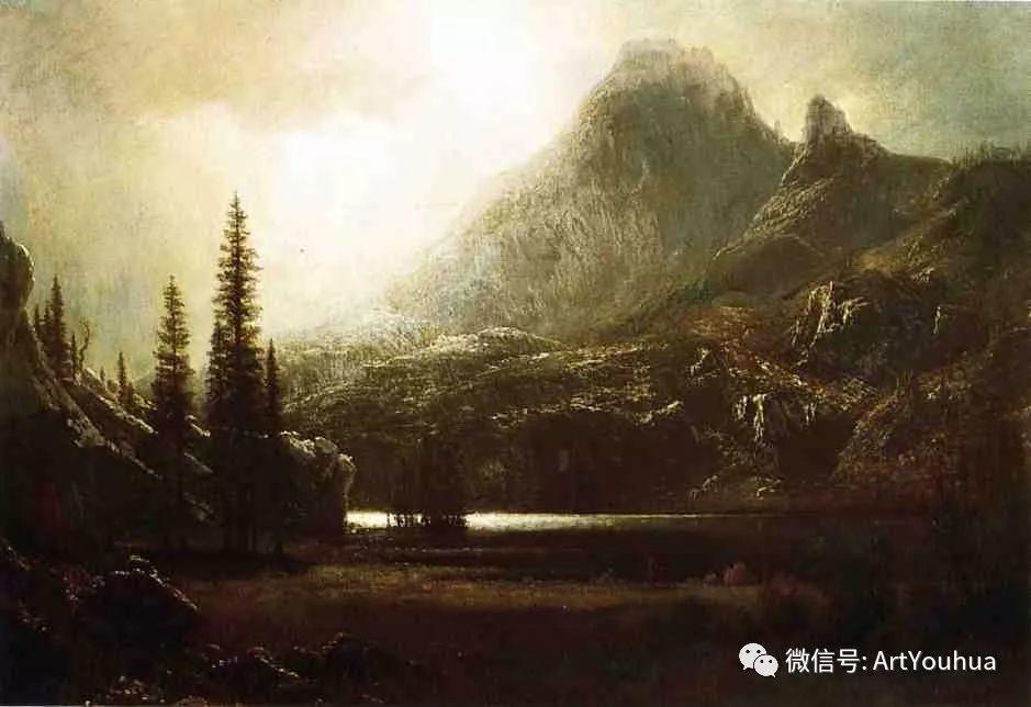 哈德逊河派 美国画家Albert Bierstadt插图77