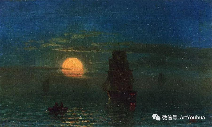 哈德逊河派 美国画家Albert Bierstadt插图79