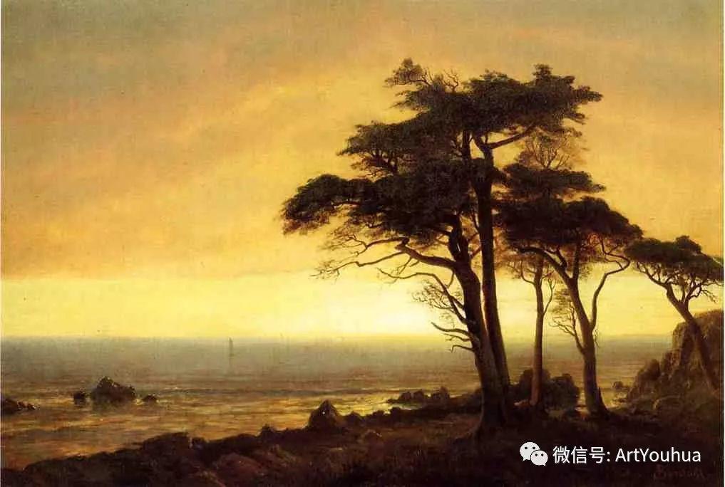 哈德逊河派 美国画家Albert Bierstadt插图81