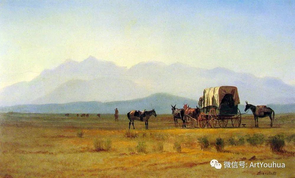 哈德逊河派 美国画家Albert Bierstadt插图83