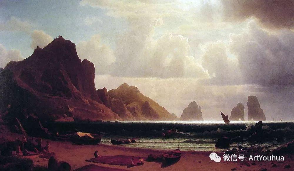 哈德逊河派 美国画家Albert Bierstadt插图87