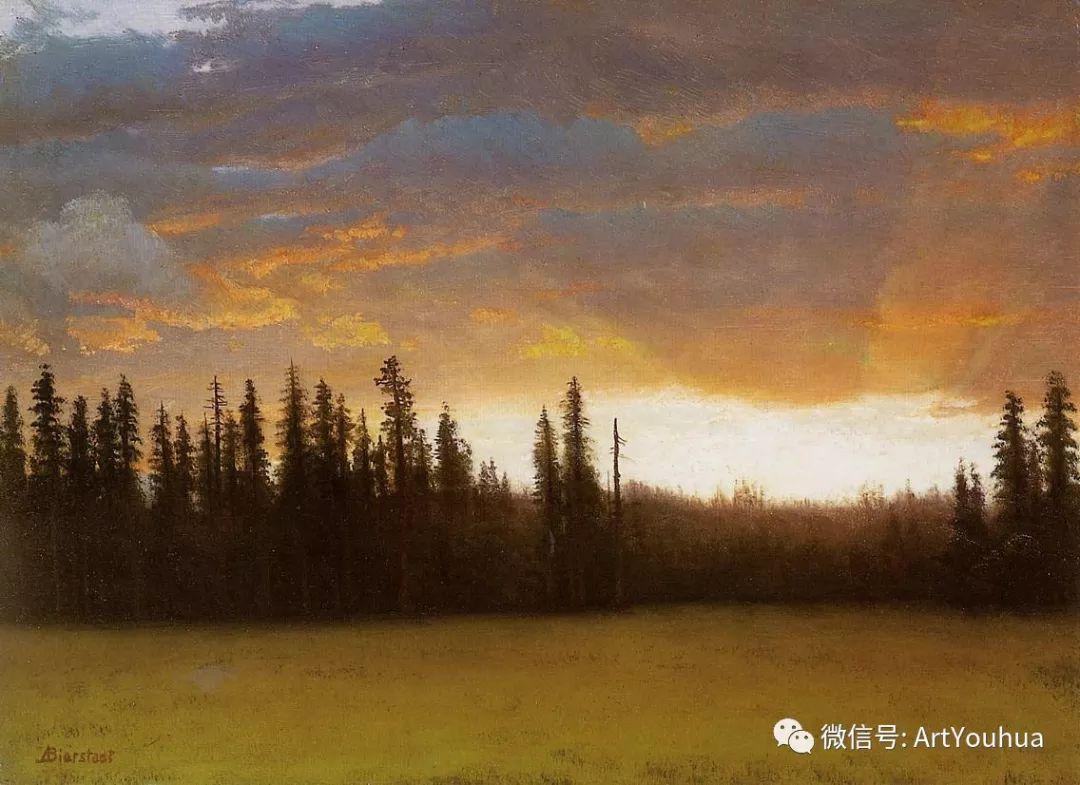 哈德逊河派 美国画家Albert Bierstadt插图89