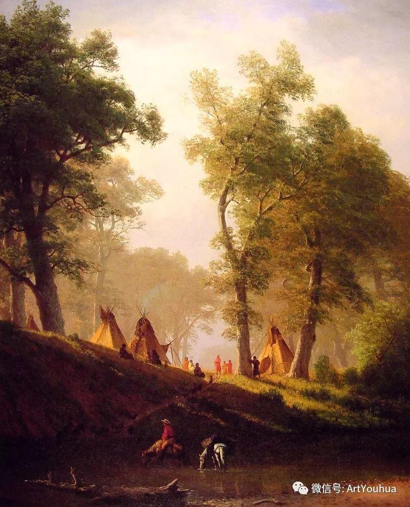 哈德逊河派 美国画家Albert Bierstadt插图91