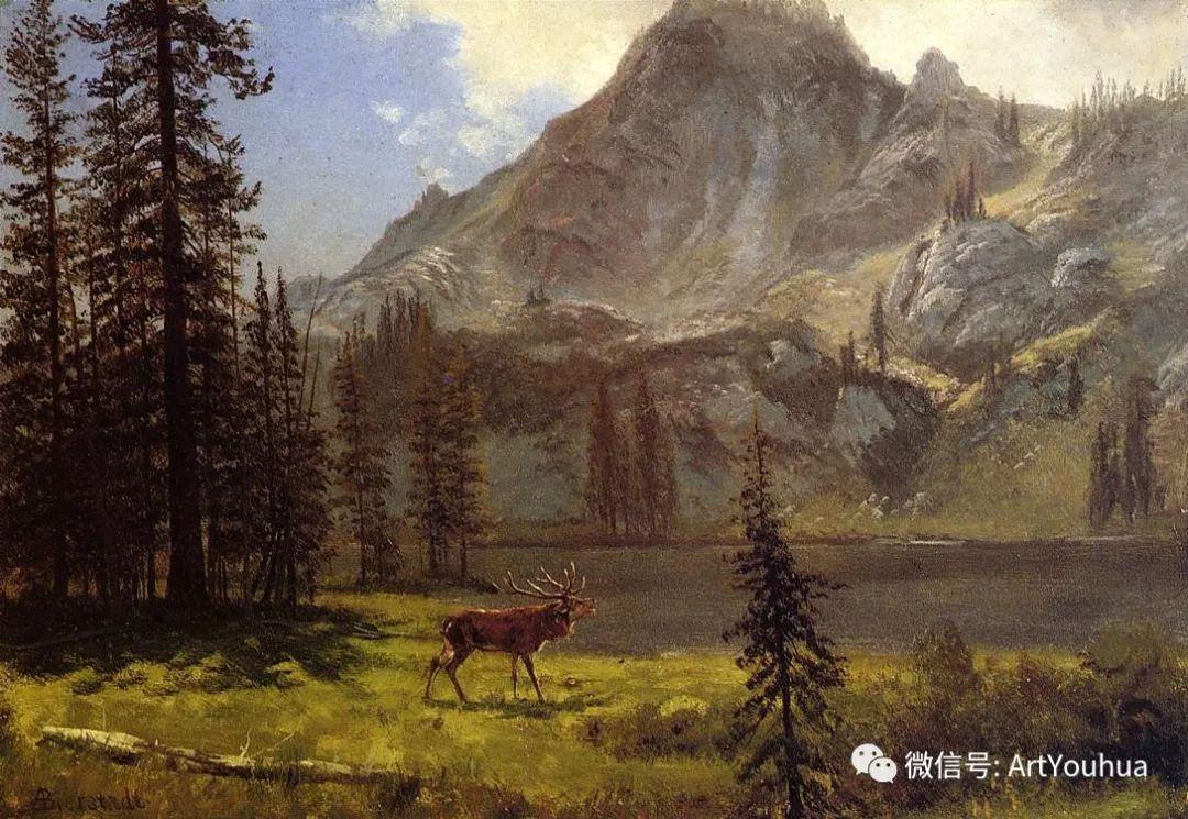 哈德逊河派 美国画家Albert Bierstadt插图93