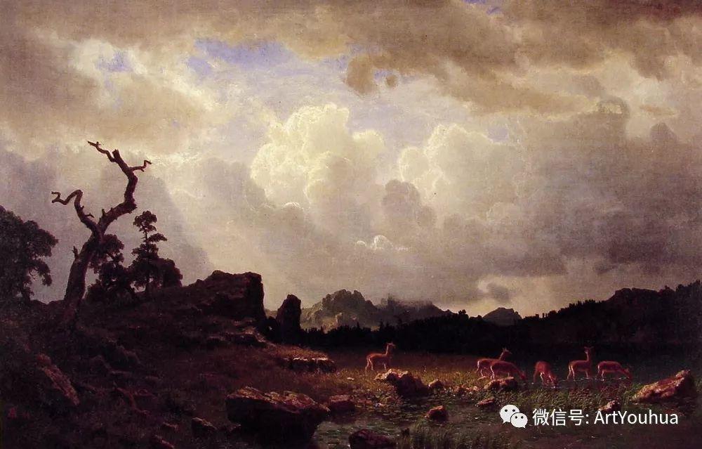 哈德逊河派 美国画家Albert Bierstadt插图95