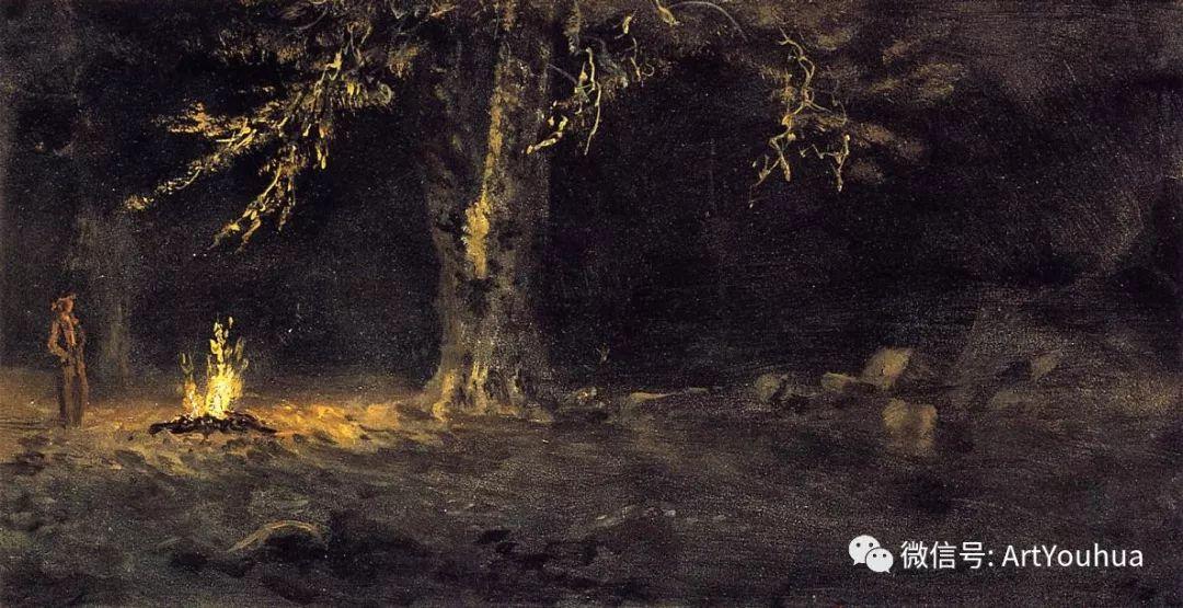 哈德逊河派 美国画家Albert Bierstadt插图97