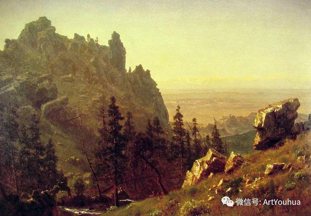 哈德逊河派 美国画家Albert Bierstadt插图99