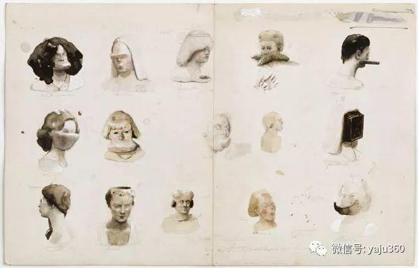 人物绘画 比利时艺术家Michaël Borremans插图33