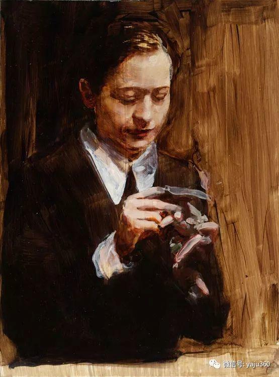 人物绘画 比利时艺术家Michaël Borremans插图37