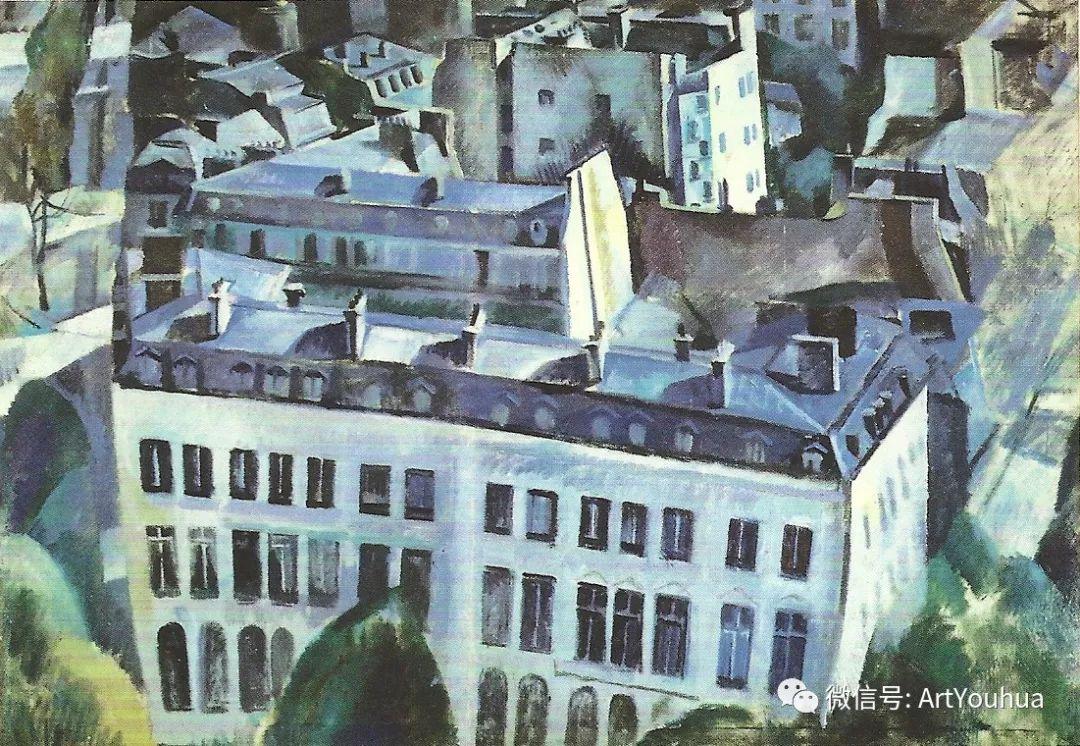 抽象艺术 法国画家Robert Delaunay插图7