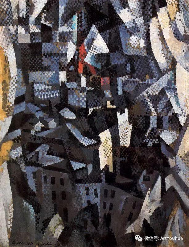 抽象艺术 法国画家Robert Delaunay插图9