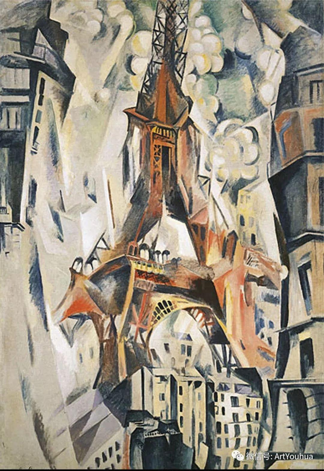 抽象艺术 法国画家Robert Delaunay插图11