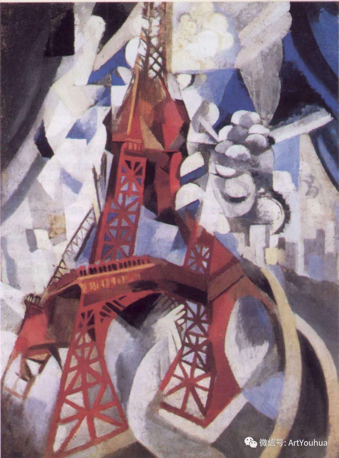 抽象艺术 法国画家Robert Delaunay插图13