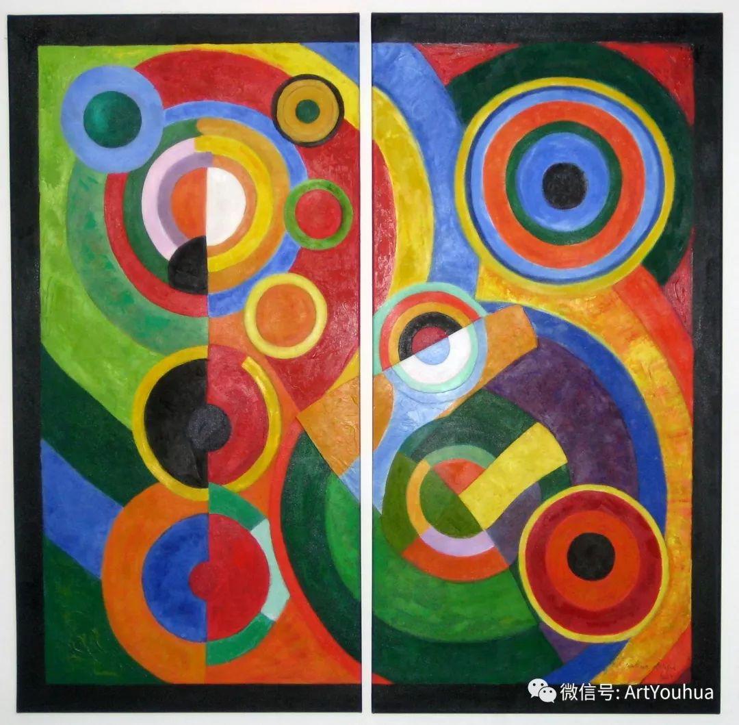 抽象艺术 法国画家Robert Delaunay插图15