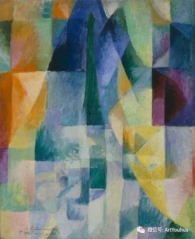 抽象艺术 法国画家Robert Delaunay插图17