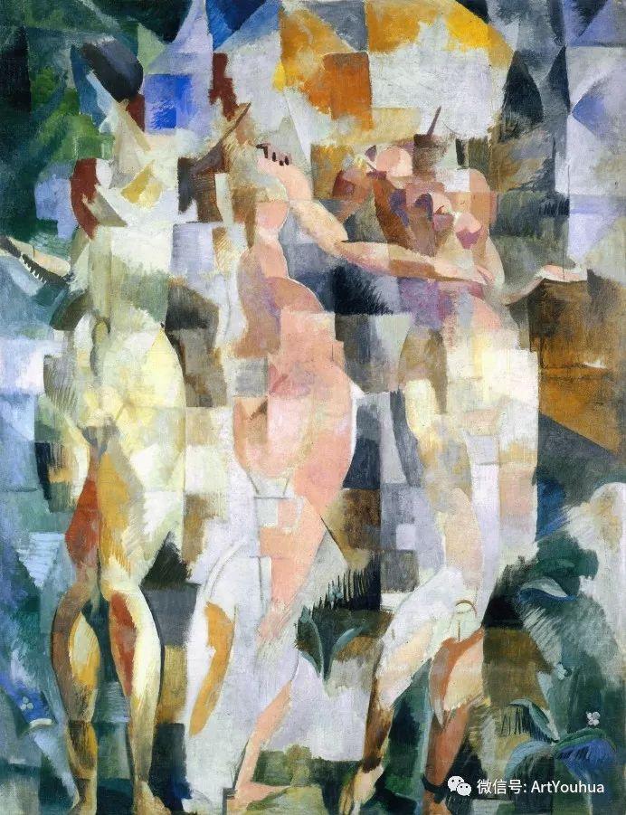 抽象艺术 法国画家Robert Delaunay插图19