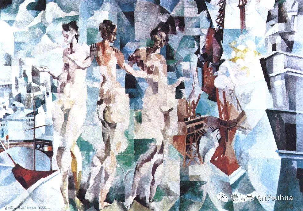 抽象艺术 法国画家Robert Delaunay插图21