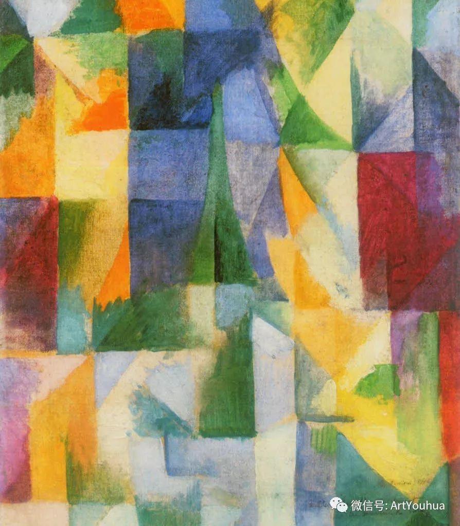 抽象艺术 法国画家Robert Delaunay插图23