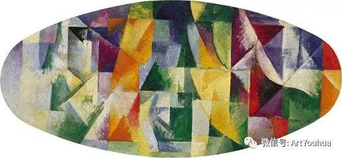抽象艺术 法国画家Robert Delaunay插图25