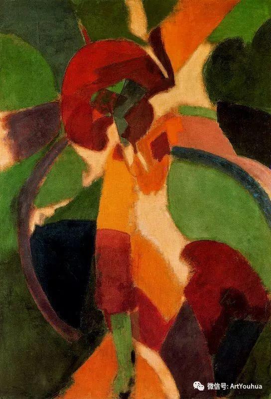 抽象艺术 法国画家Robert Delaunay插图27