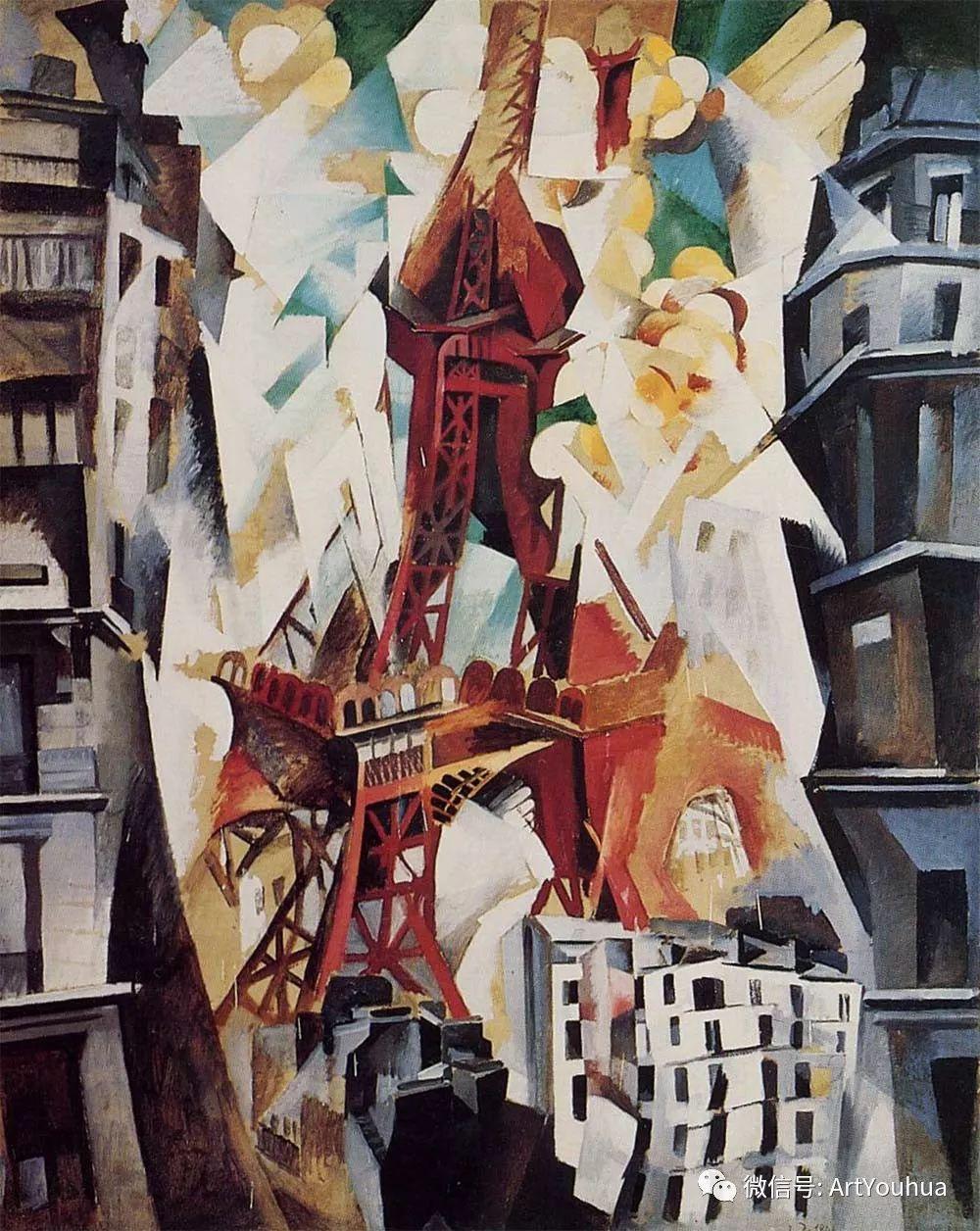 抽象艺术 法国画家Robert Delaunay插图29