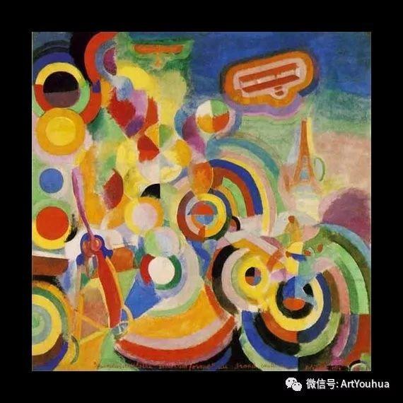 抽象艺术 法国画家Robert Delaunay插图31