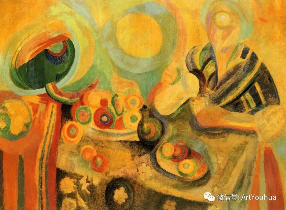 抽象艺术 法国画家Robert Delaunay插图33