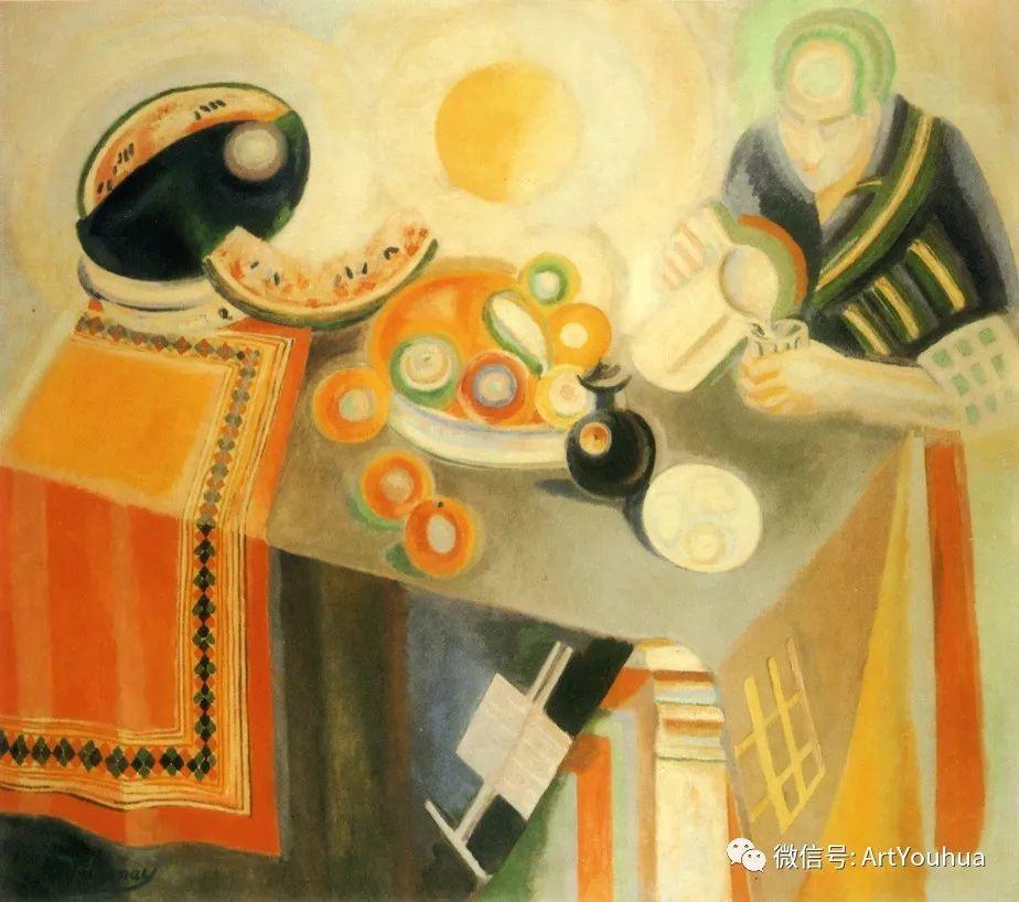 抽象艺术 法国画家Robert Delaunay插图35