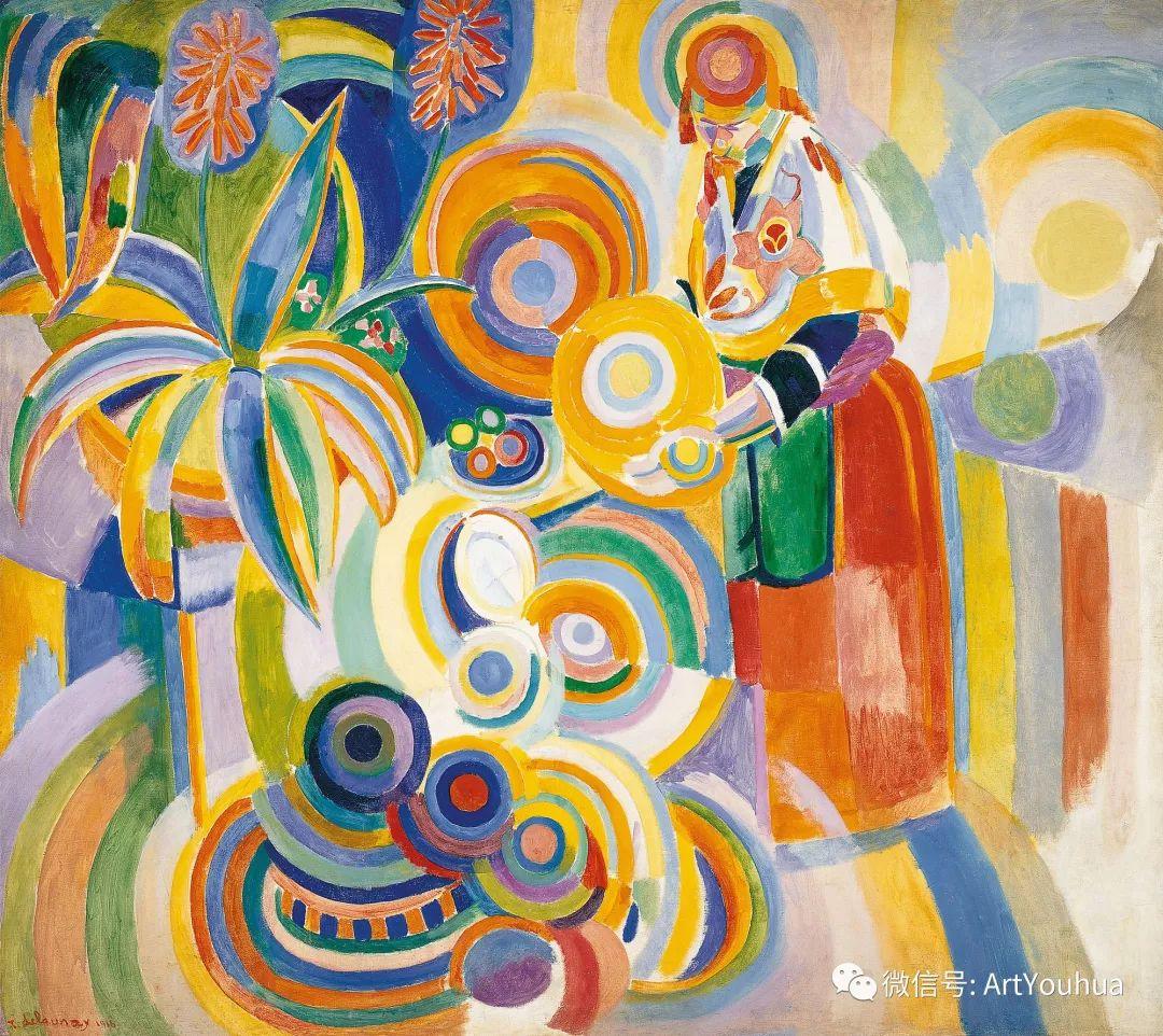 抽象艺术 法国画家Robert Delaunay插图37