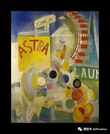 抽象艺术 法国画家Robert Delaunay插图39