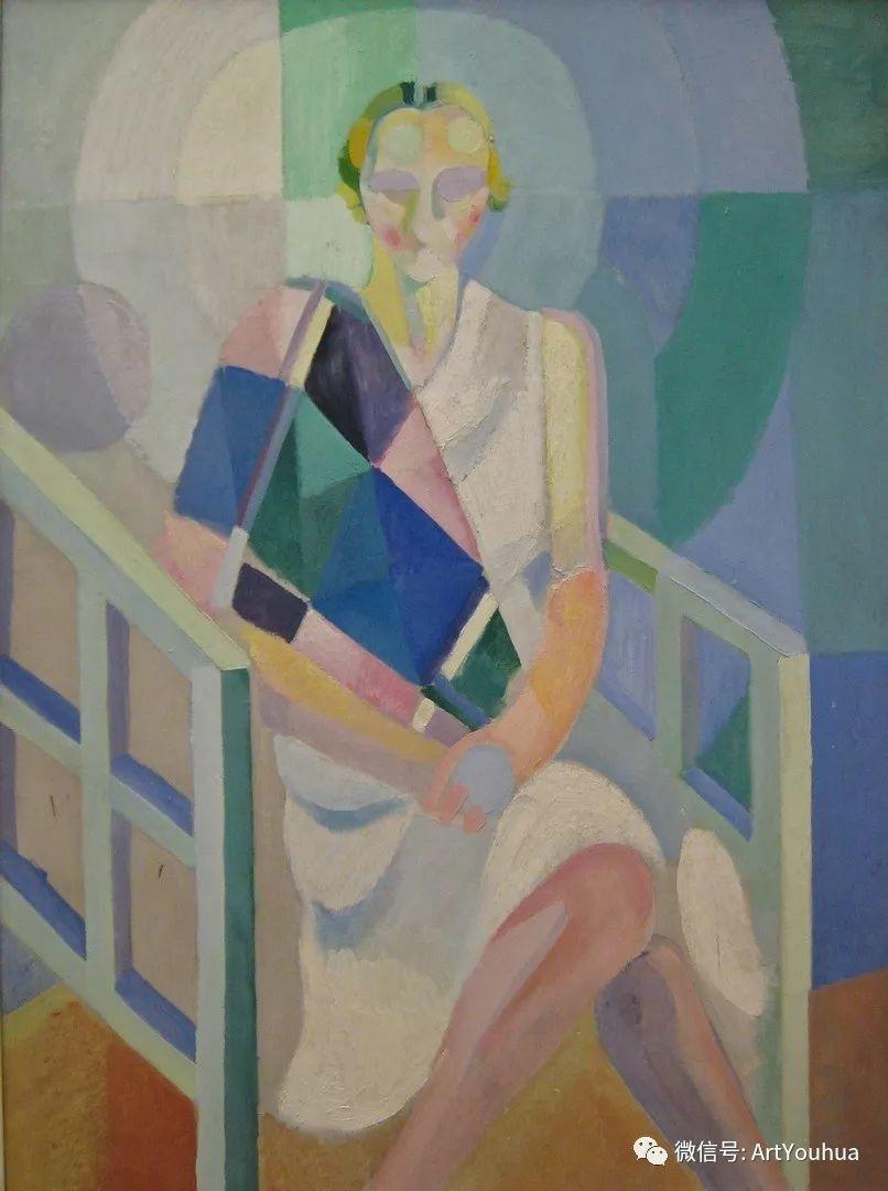 抽象艺术 法国画家Robert Delaunay插图41