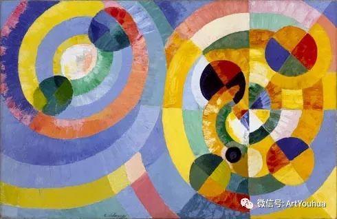 抽象艺术 法国画家Robert Delaunay插图43