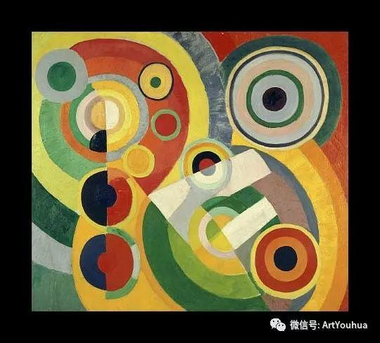 抽象艺术 法国画家Robert Delaunay插图45