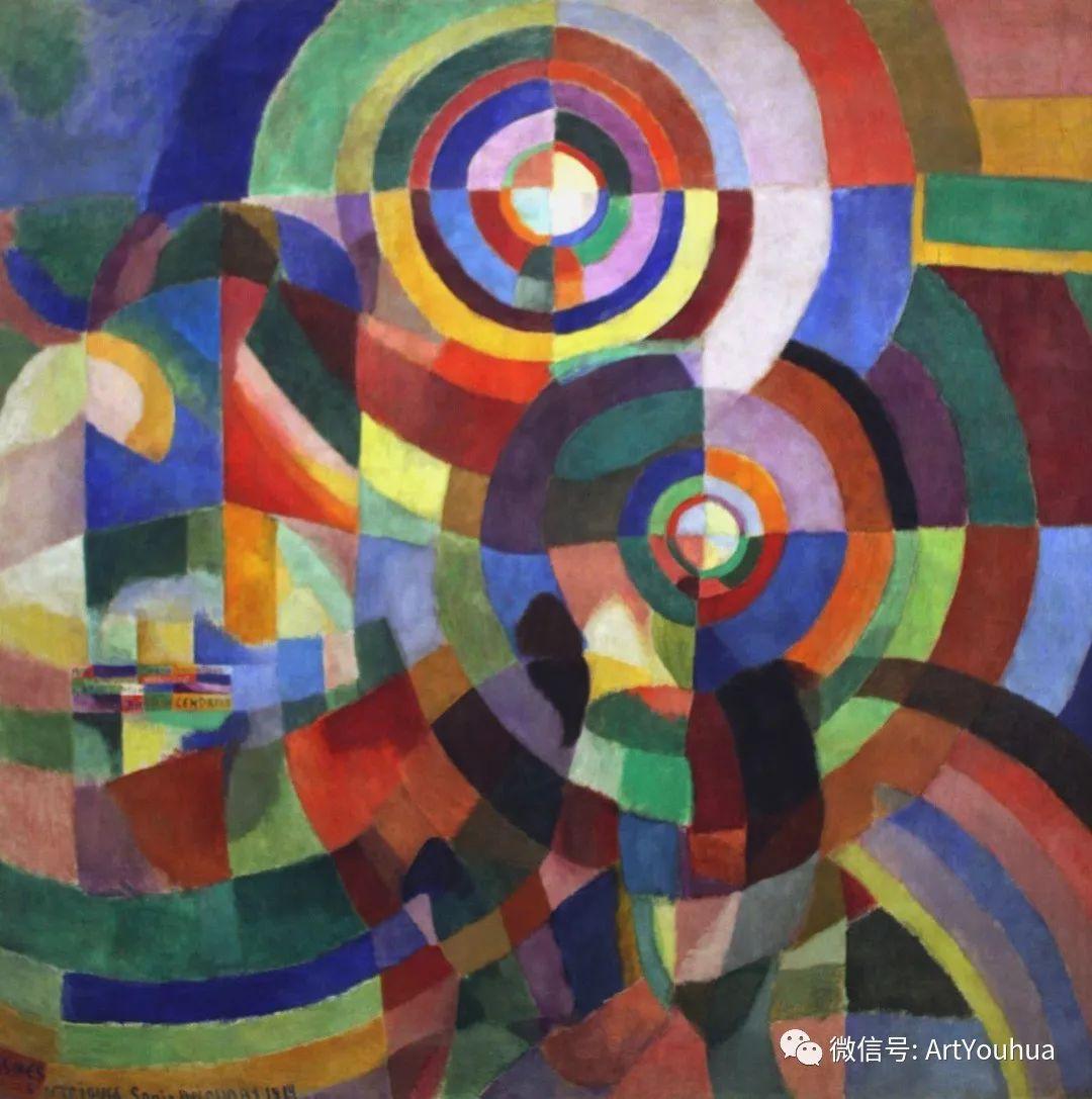 抽象艺术 法国画家Robert Delaunay插图47