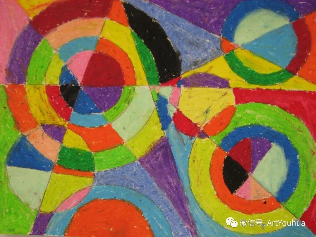 抽象艺术 法国画家Robert Delaunay插图51