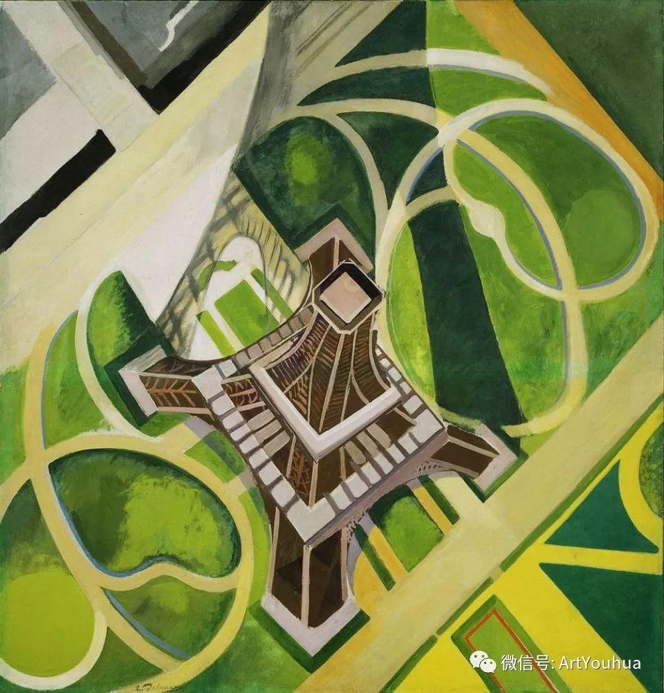 抽象艺术 法国画家Robert Delaunay插图53