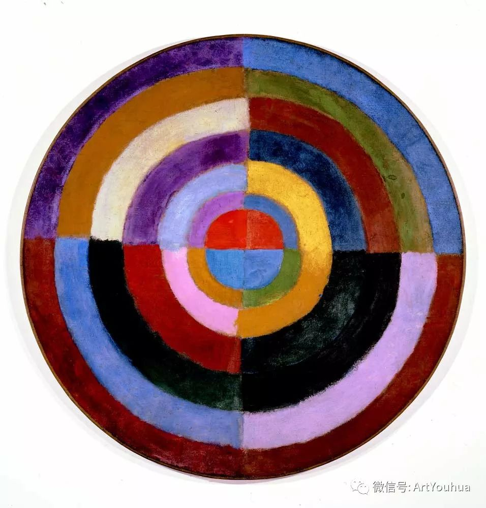 抽象艺术 法国画家Robert Delaunay插图55