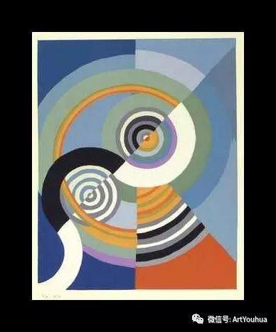 抽象艺术 法国画家Robert Delaunay插图57