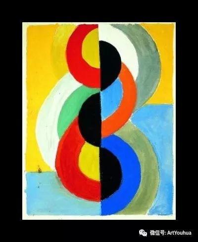 抽象艺术 法国画家Robert Delaunay插图59