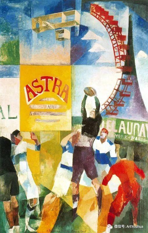 抽象艺术 法国画家Robert Delaunay插图63