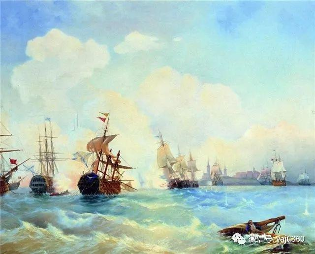 海洋景观 俄罗斯画家Alexey Bogolyubov插图41