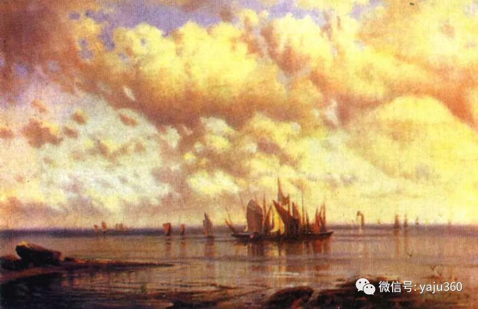 海洋景观 俄罗斯画家Alexey Bogolyubov插图43
